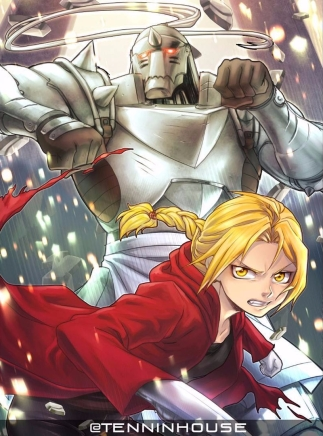 TENNINHOUSE art of Fullmetal Alchemist Al and Ed