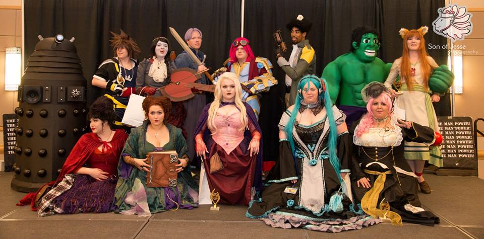 Anime Blast 2013 Cosplay Contest Winners