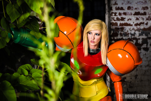 Abby ADOS in Samus Cosplay